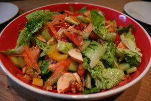 Delicious Smoked Salmon Salad