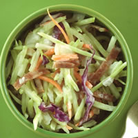 Healthy Broccoli Slaw
