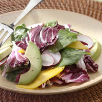 Mouthwatering Avocado - Mango -Spinach Yummy salad