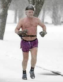 Winter exercise... NOT !!