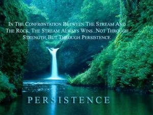 Progress through Persistence