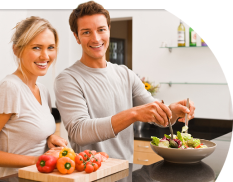 Eating to reduce stress to live Happily