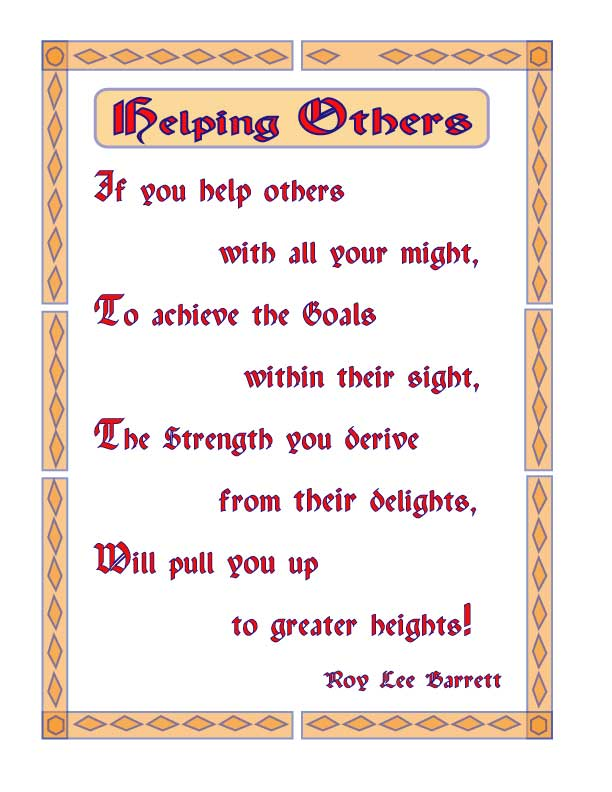 Image result for helping other poem for kids