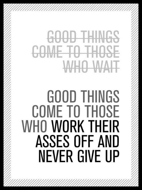 Don't just sit there - Get Going on your Daily Goals -