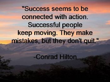 Success IS Action