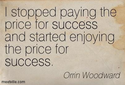 Enjoying Success